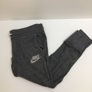 Nike Vintage Dark Heather Gray Joggers Size S